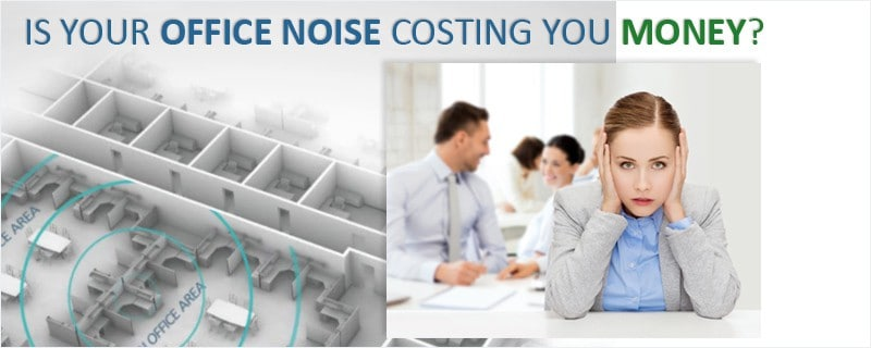 How much is your office noise costing you