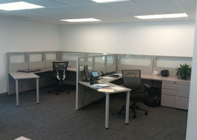 7′ x 9′ Open WorkStations