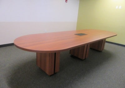 Racetrack Reception Table