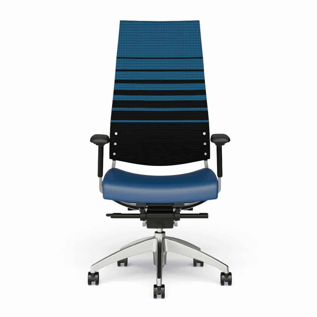 9 to 5 Cosmo Mesh high back Mid Back Task Chair with Mesh Back and Upholstered Seat 11 locking positions