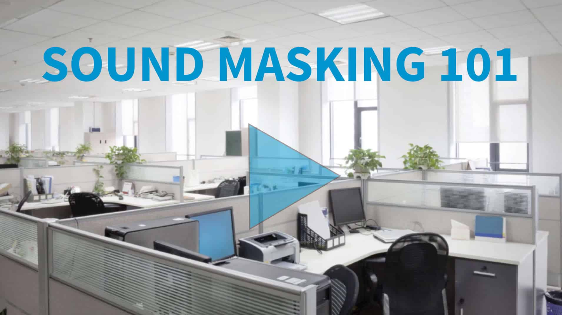 Office Sound Masking Systems Amp Space White Noise Machines