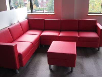 Office lounge area, Waltham MA