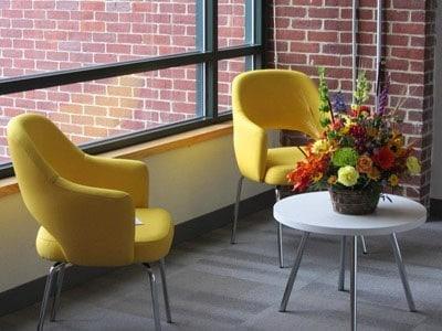 Reception furniture, Waltham MA