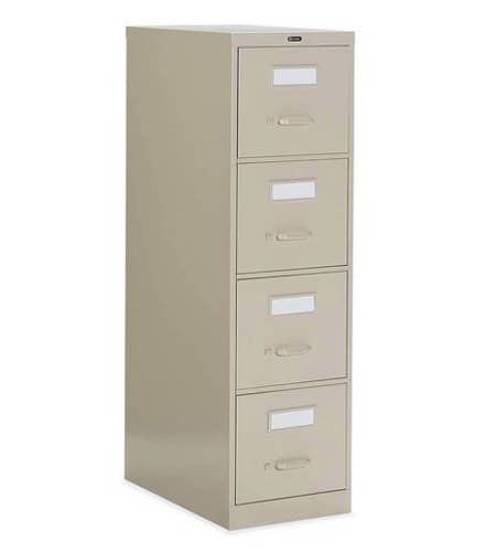 25D 4 Drawer Vertical File - Letter, File Cabinet
