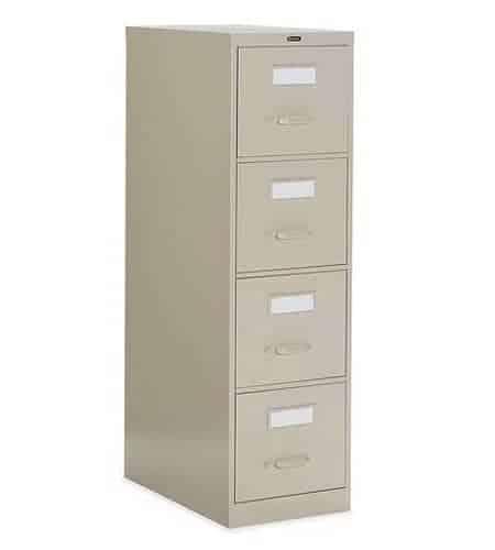25D 4 Drawer Vertical File - Letter, File Cabinet