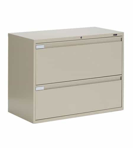 36″ Wide 2 Drawer Lateral File 36w x 18d x 27.125h office storage