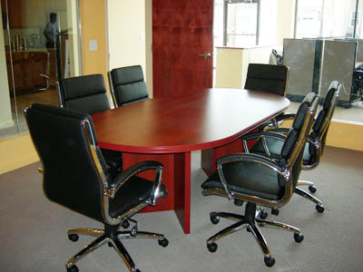Conference room furniture, Action Real Estate