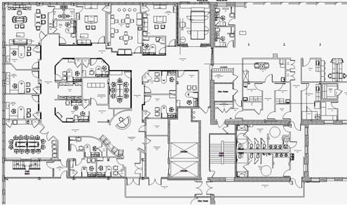office design floor plan