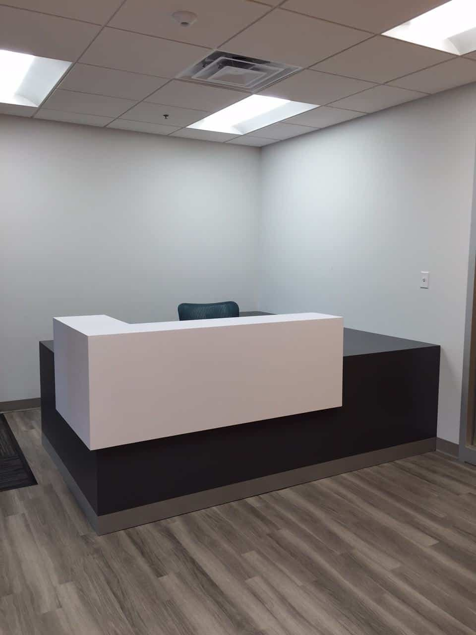 reception area, reception furniture, MA