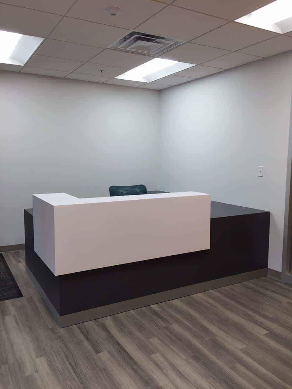 Reception area, Reception furniture, Massachusetts