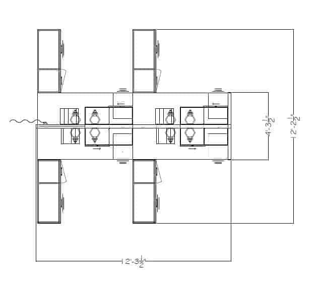 Interra 6'x6′ Partical Glass Cubicle 242