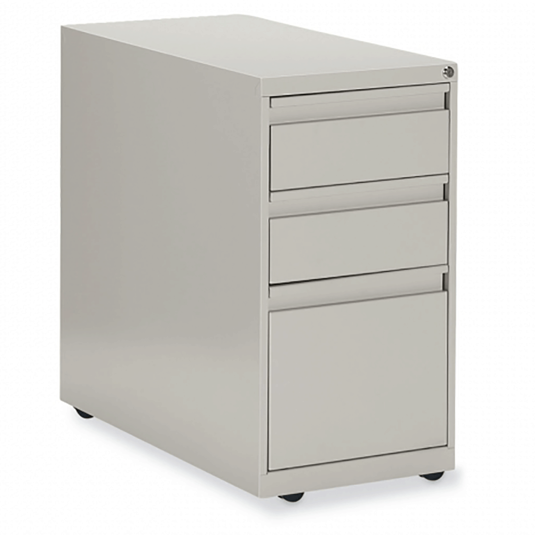 Mobile Box/Box/File Pedestal 15w x 23d x 28h Light grey Office Pedestals