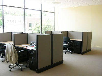 Sales desks, office furniture boston, Action Real Estate