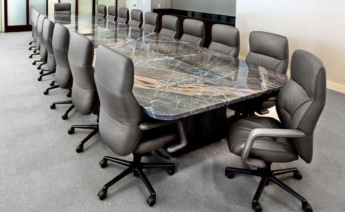 Arnold Stone Top Conference Table