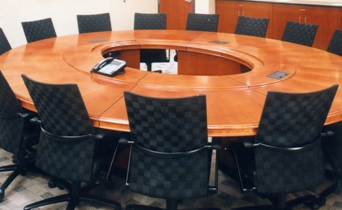 Arnold Oval Conference Table