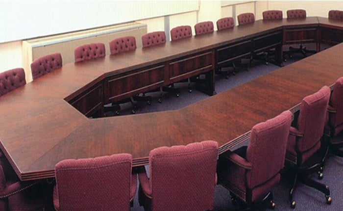 Arnold Octagonal Conference Table