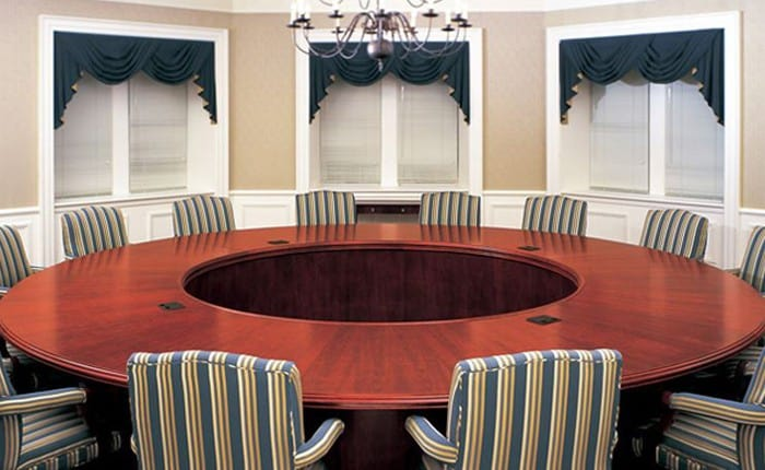 Arnold Circular Conference Table