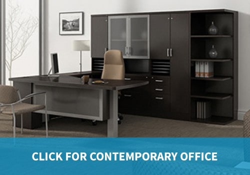 Contemporary Office Furniture private offices and desks executive desks