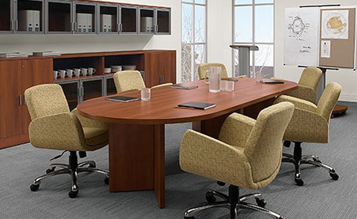 "Global Correlation Laminate Racetrack 48""x96"" Table"