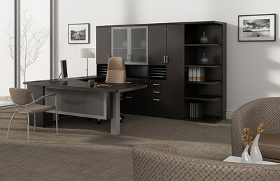 Global office collection price range $3500-$5000 lateral files credenzas contemporary