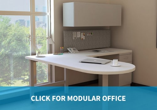 Modular Office category private office and desk furniture