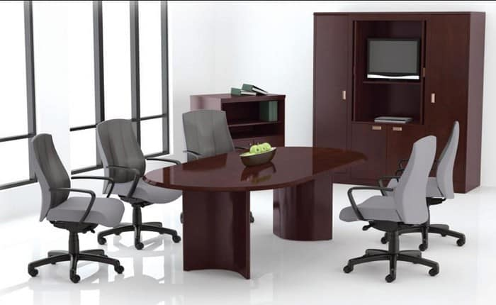 "Paoli Racetrack 36""x72"" Conference Table"