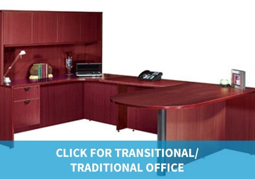 Transitional/Traditional Office Furniture classic wood executive suites