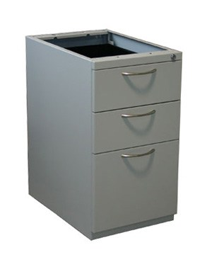 Partsco under-worksurface Box/Box/File pedestal