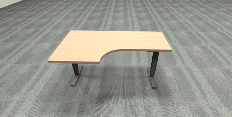Used Pre-owned Height-Adjustable Table