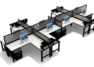8 Person Desking Unit