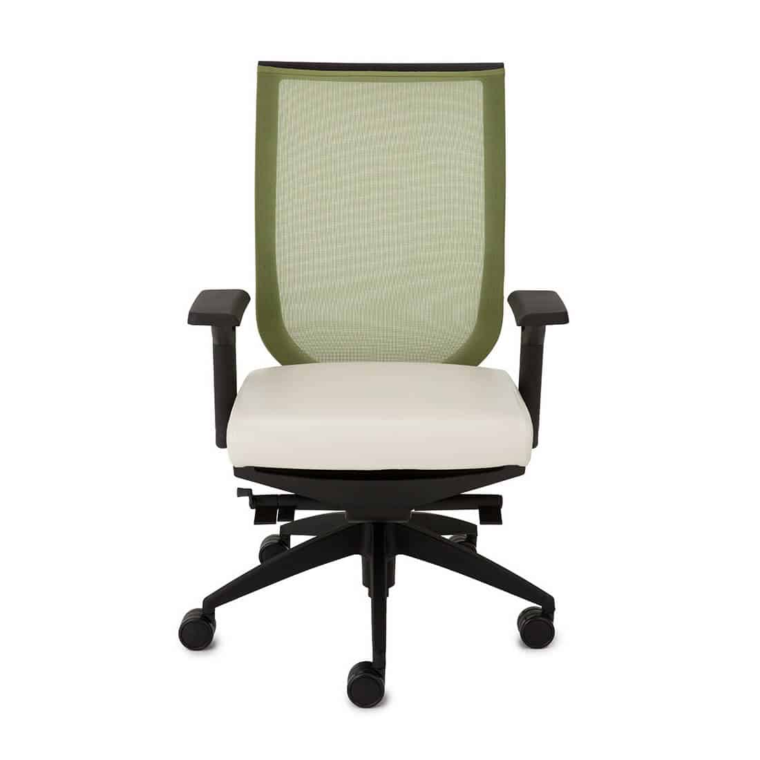 9 to 5 Aria mesh back fabric seat adjustable arm and sliding seat pan and simple syncho-tilt