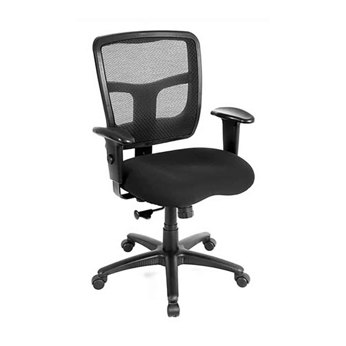 Friant Zone Classic Mesh Back Desk Chair with 2-way Adjustable Arms