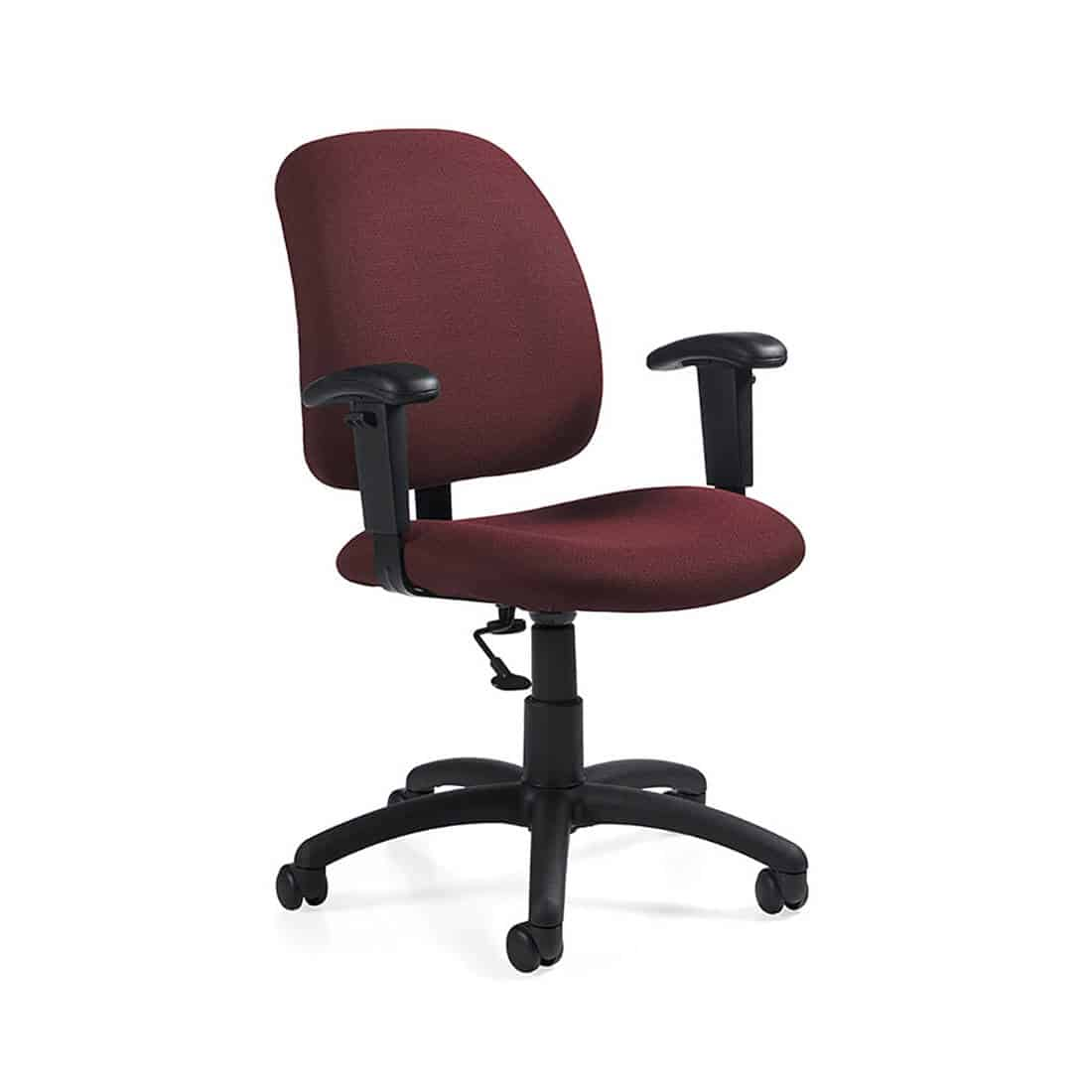 Global Goal Low Back Task Chair fire code