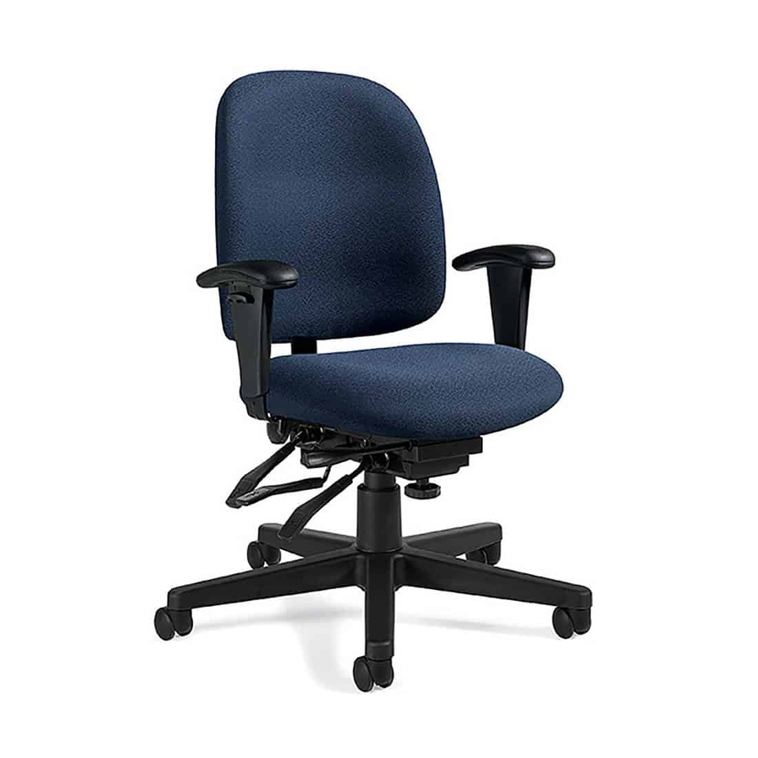 Global Granada Low Back Multi-Tilter Chair CAL-133 certified