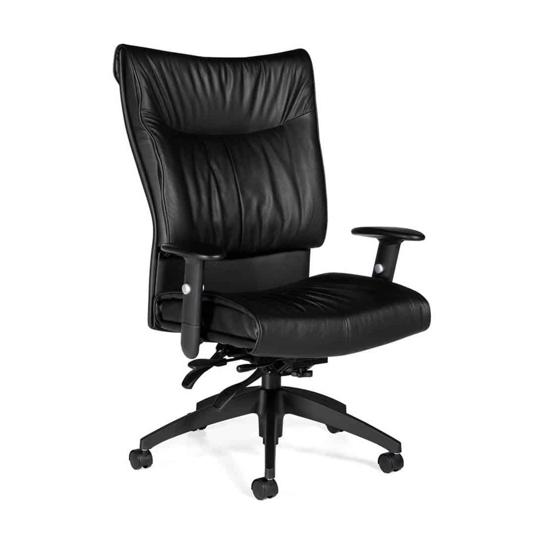 Global Soft Curve High Back Executive Office Chair Multi Tilter