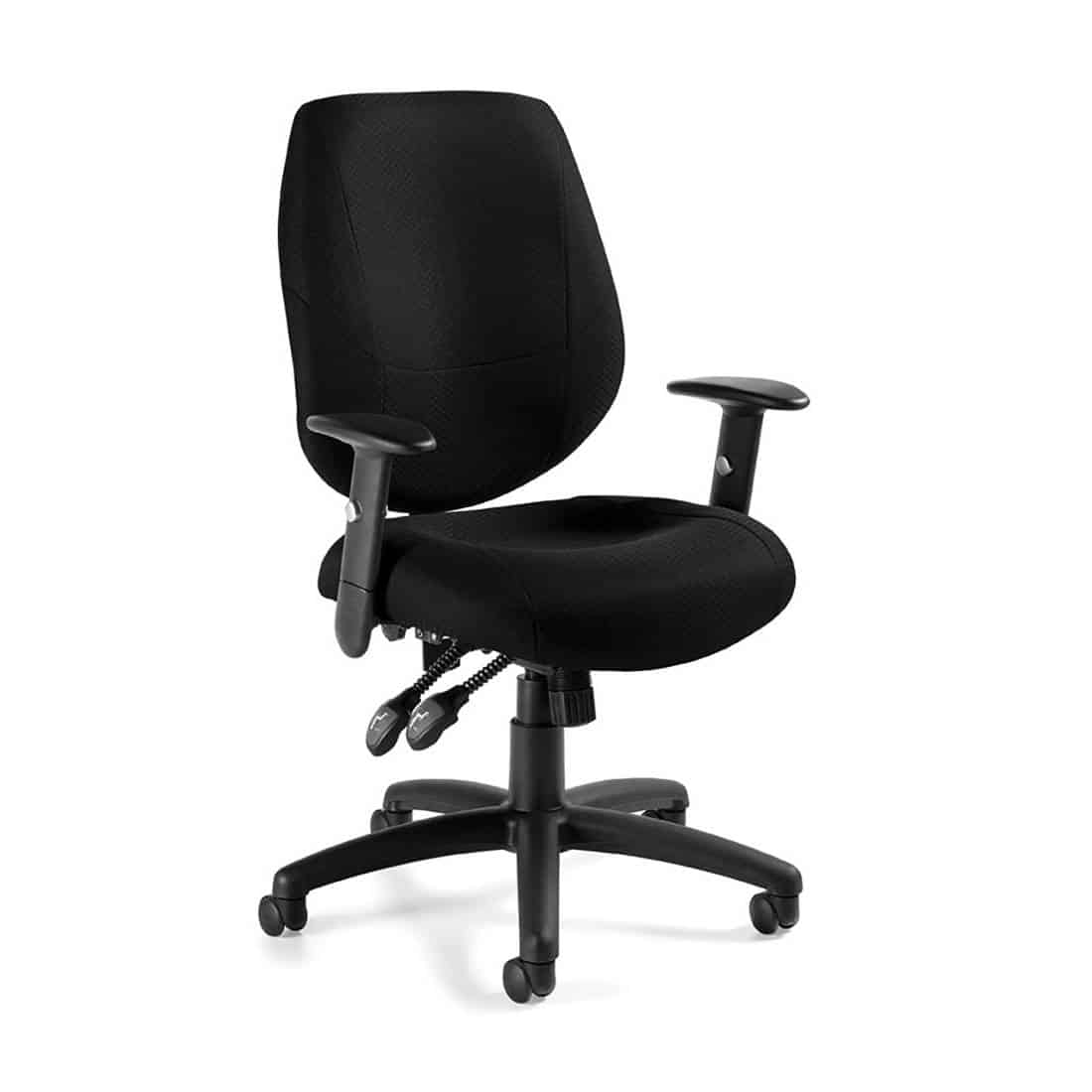9 to 5 Logic Mid Back Desk Chair with Multi Function Seat and Forward Seat Pitch