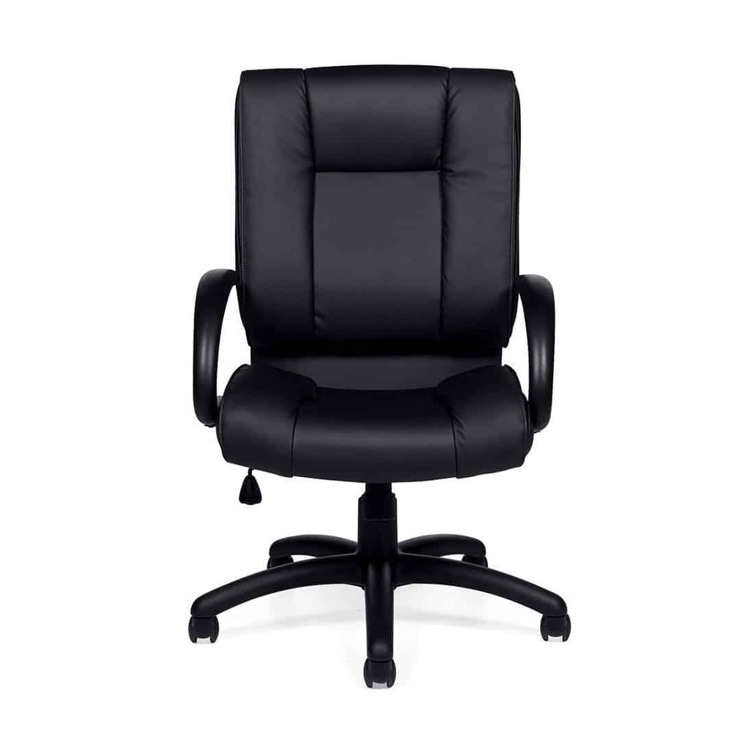 luxhide high back conference room chair