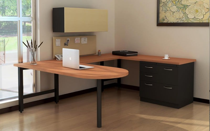 D-Top U-Shaped Desk