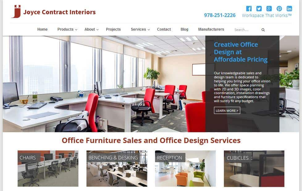 Joyce Contract Interiors Home Page