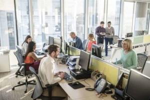 designing office workzones