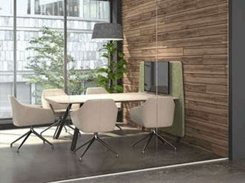 Office Cubicle Workstations simple design office meeting room open conference furniture
