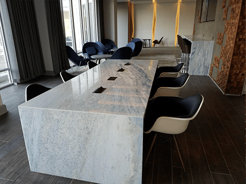 Collaborative Ancilliary Areas media tables wood conference room tables outlets custom tables power data outlets