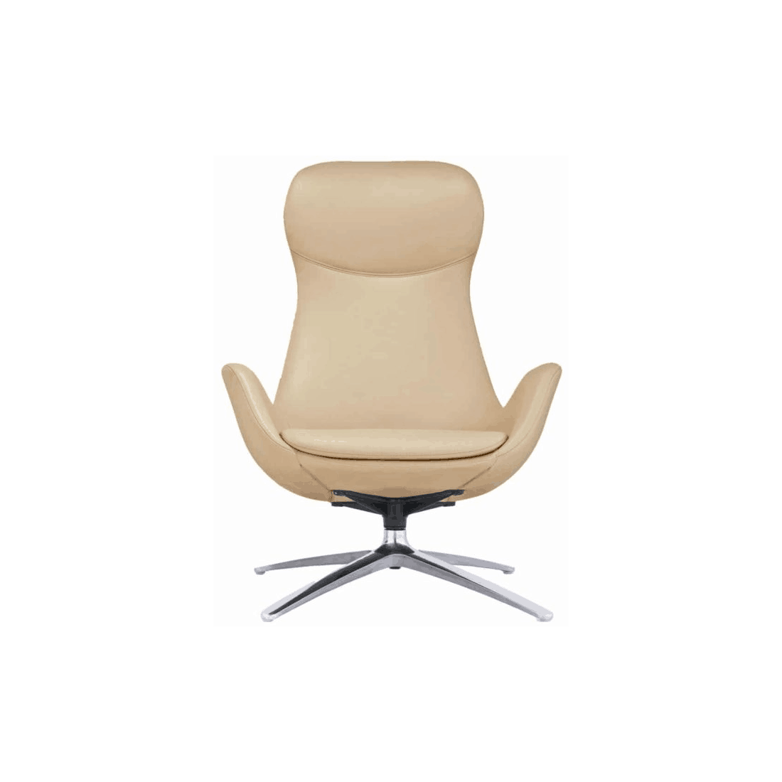 Buzz Seating Highback Leather Collaborative Chair