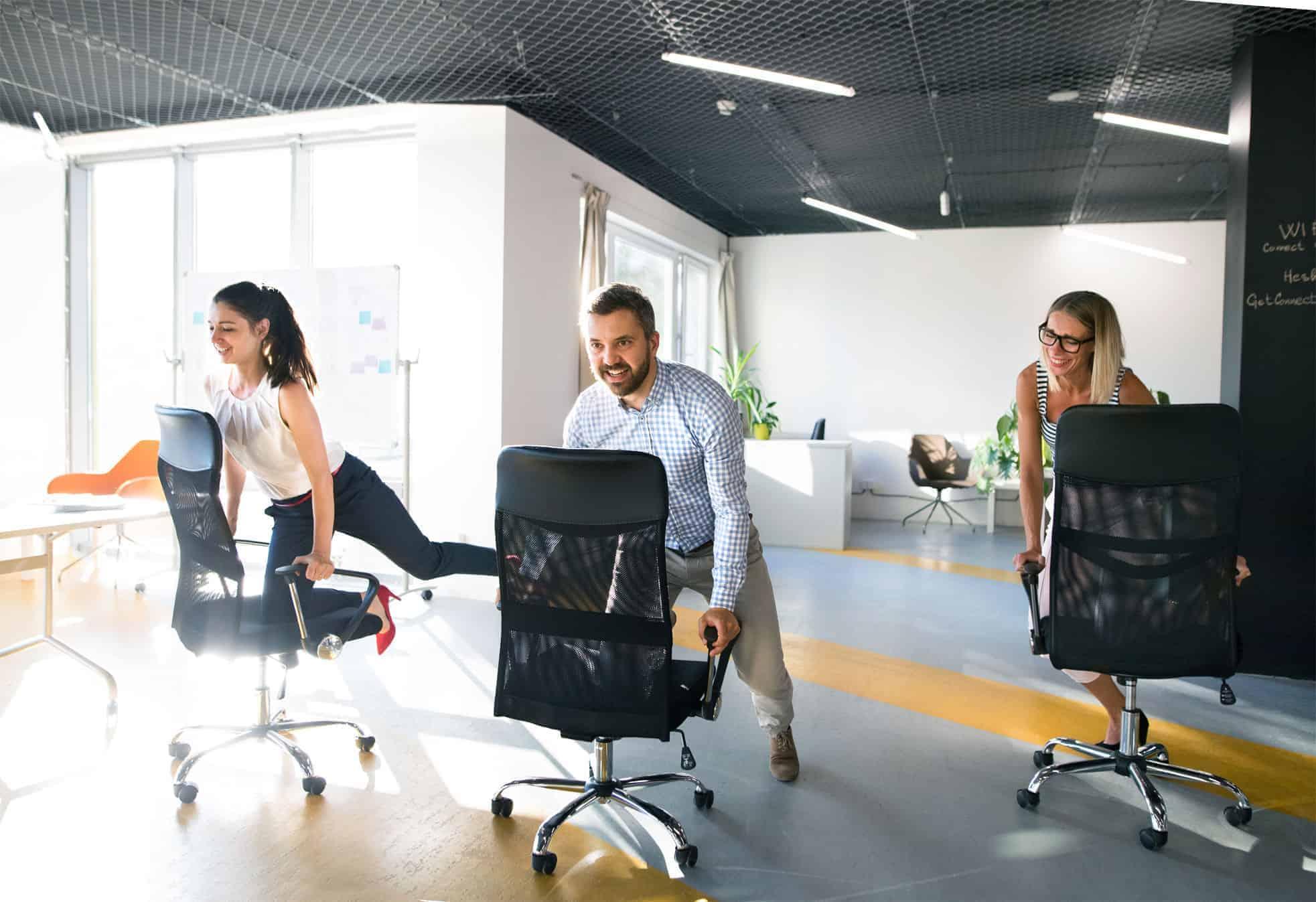 office-chair-race