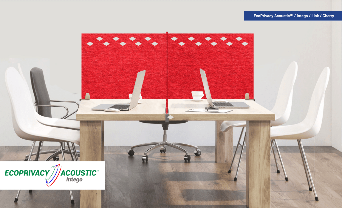 Acoustic Privacy Office Desk Sound Panels and Dividers