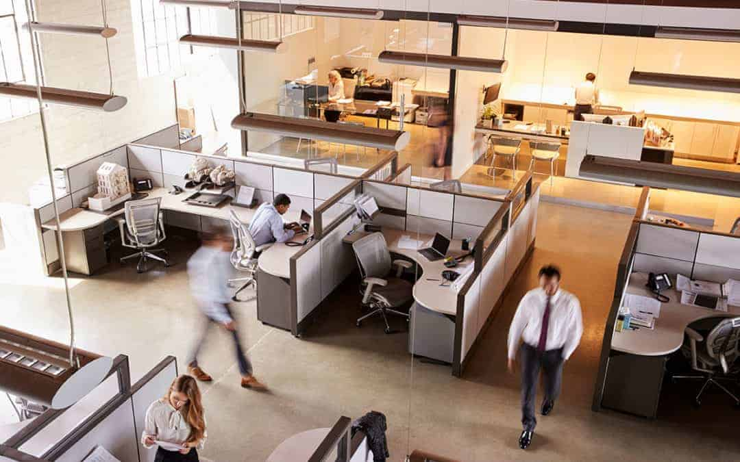 Why Cubicles Are Making A Comeback