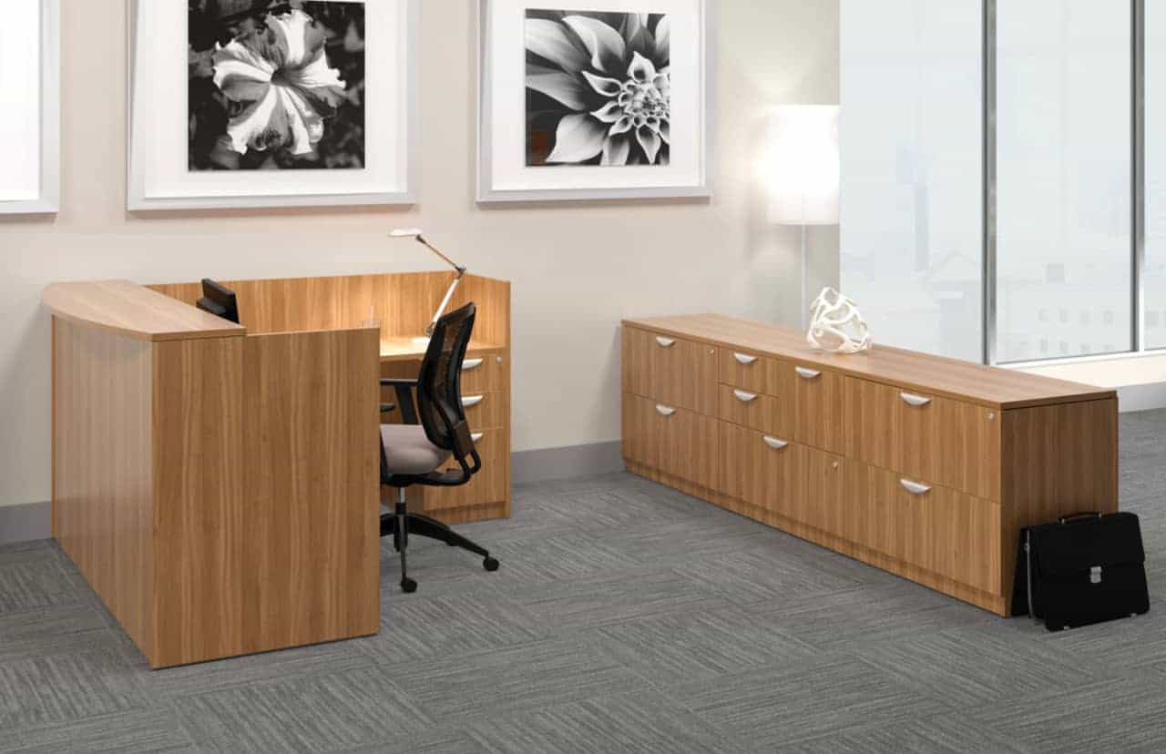 Offices to Go Office Reception Desk Station