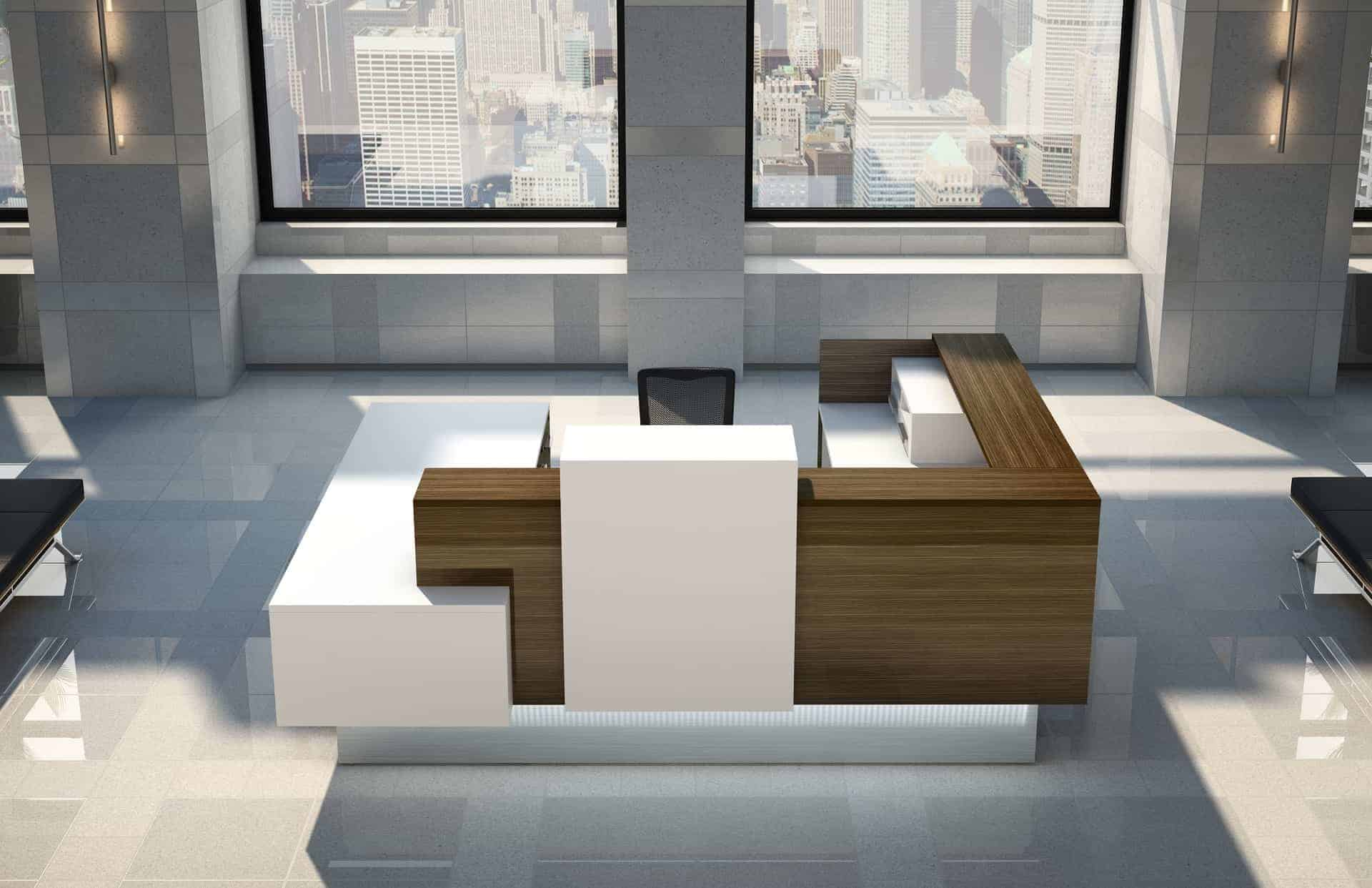 Logiflex Inbox Office Reception Desk