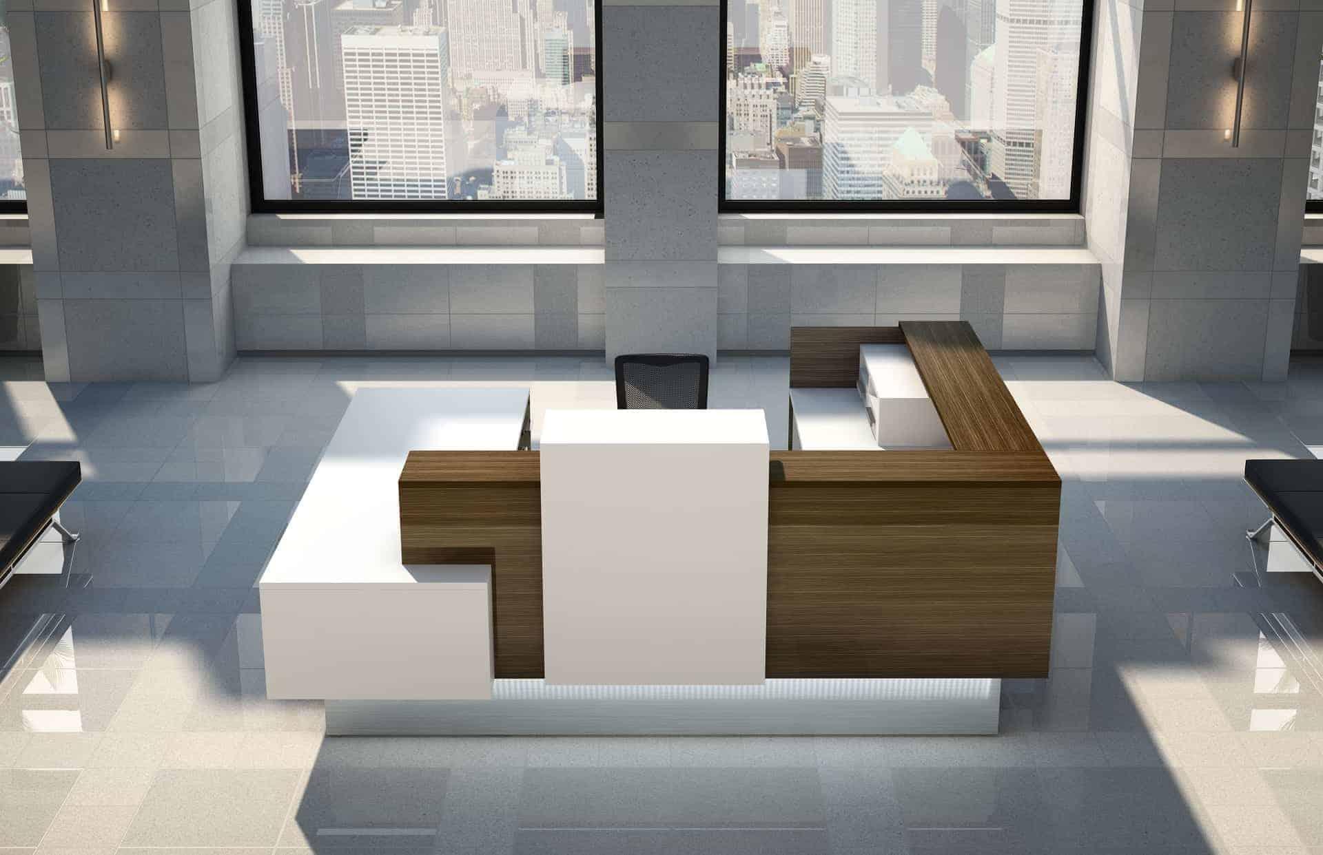 Logiflex Inbox Office Reception Desk