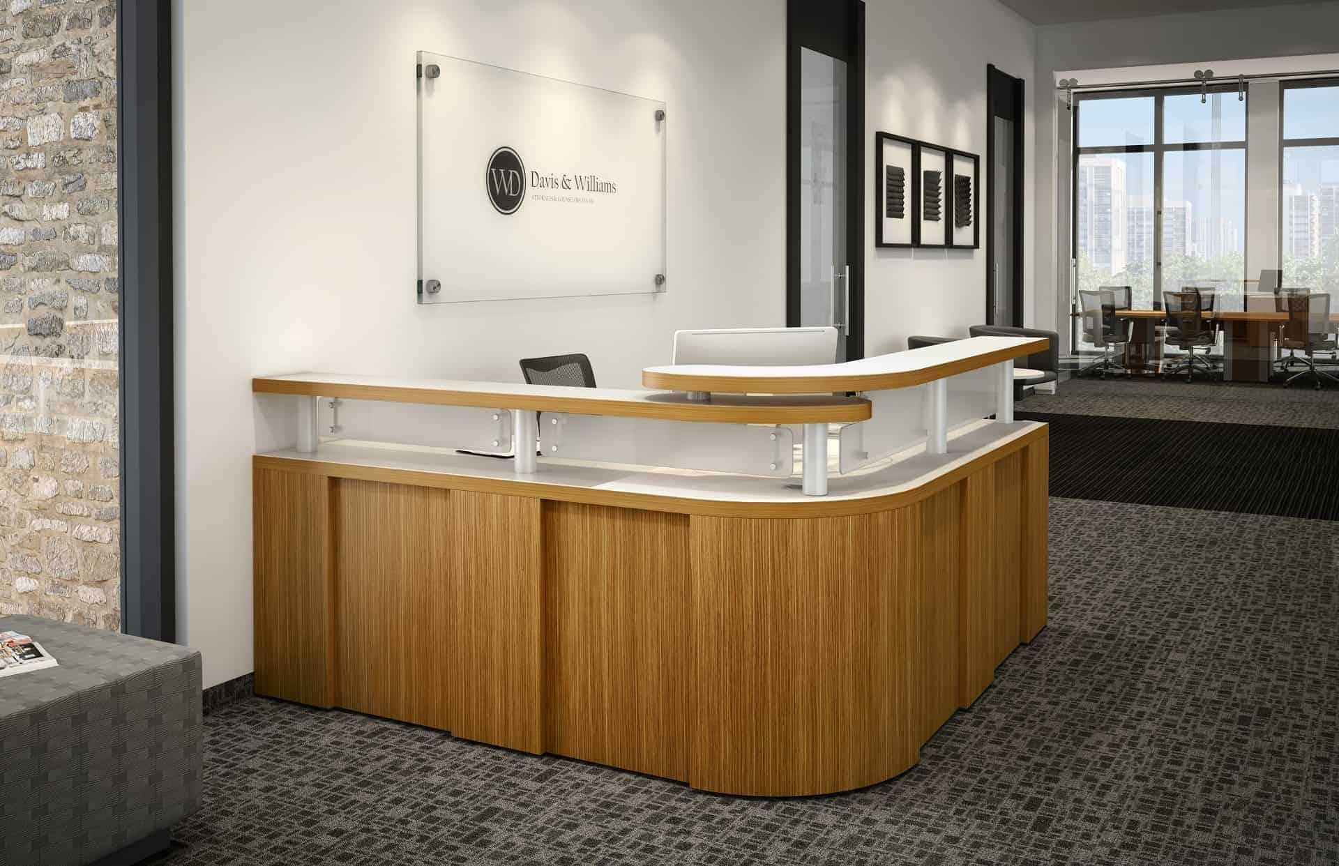 Logiflex Manhattan Office Reception Station